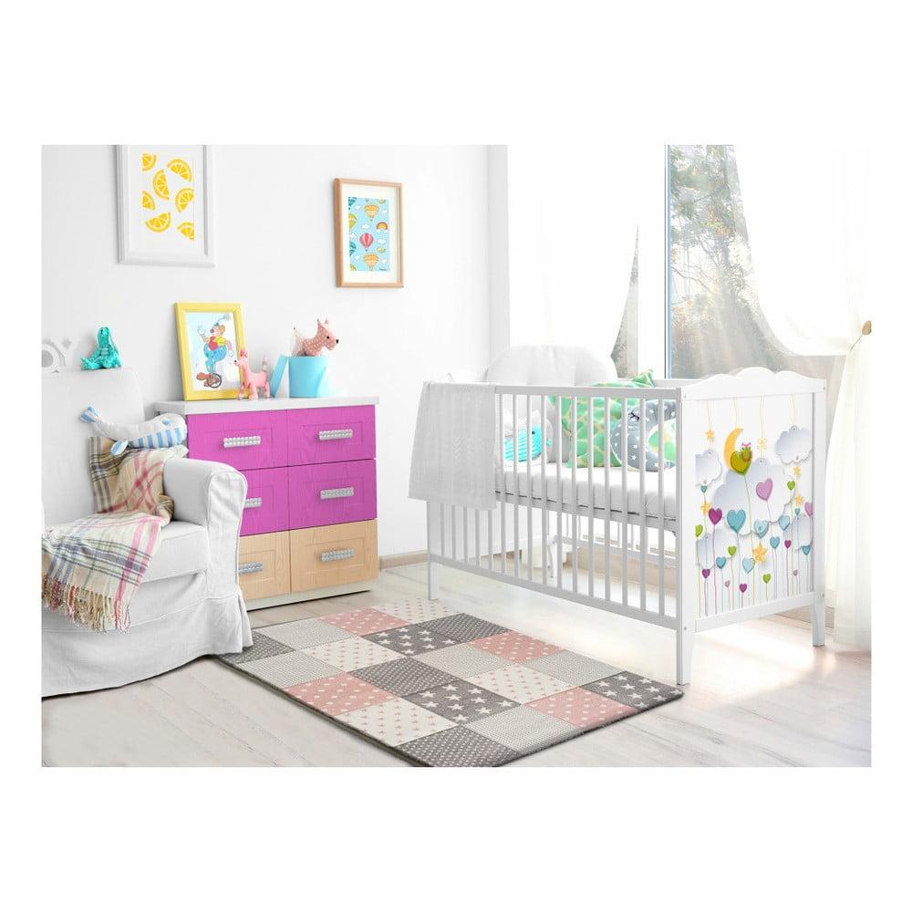 Produktové foto Dětský koberec Universal Toys Dice, 120 x 170 cm