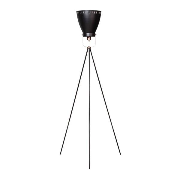 Stojací lampa s trojnožkou a měděnými detaily ETH Acate Industri
