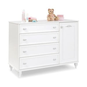 Bílá komoda Romantica Large Dresser