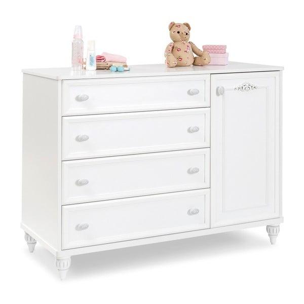 Romantica Large Dresser fehér komód