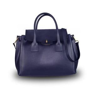 Modrá kabelka z pravé kůže JOHN FISH Suv