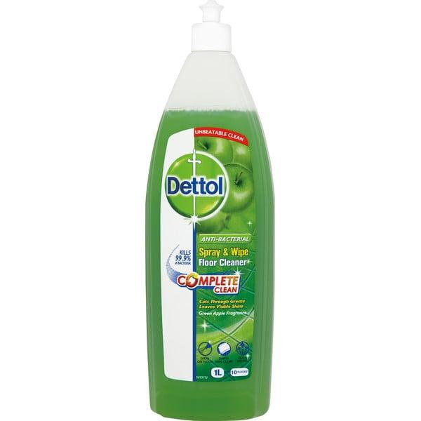 Antybakteryjny środek do podłóg o zapachu zielonego jabłuszka Dettol, 1 l