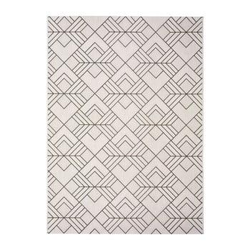 Covor pentru exterior Universal Silvana Caretto, 120 x 170 cm, bej-alb imagine