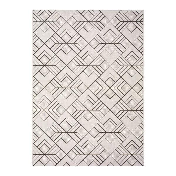 Bílobéžový venkovní koberec Universal Silvana Caretto, 160x230cm