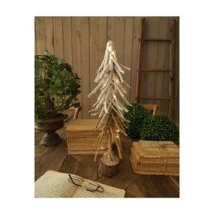 Sada 2 vánočních světelných LED dekorativních stromků Orchidea Milano Snow Tree, výška 50 cm