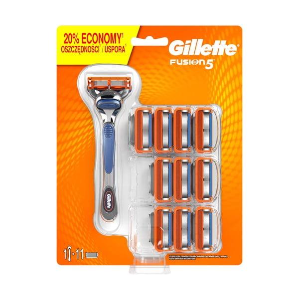 Pánský holicí strojek Gillete Fusion5 s 11 náhradními hlavicemi