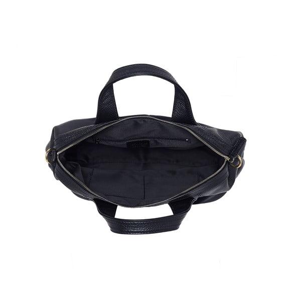 Kožená kabelka Andrea Cardone 900 Black