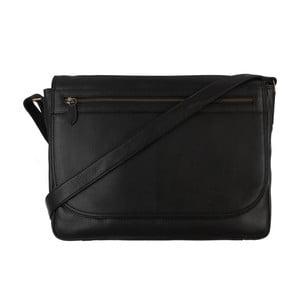 Kožená pánská taška Matt Black