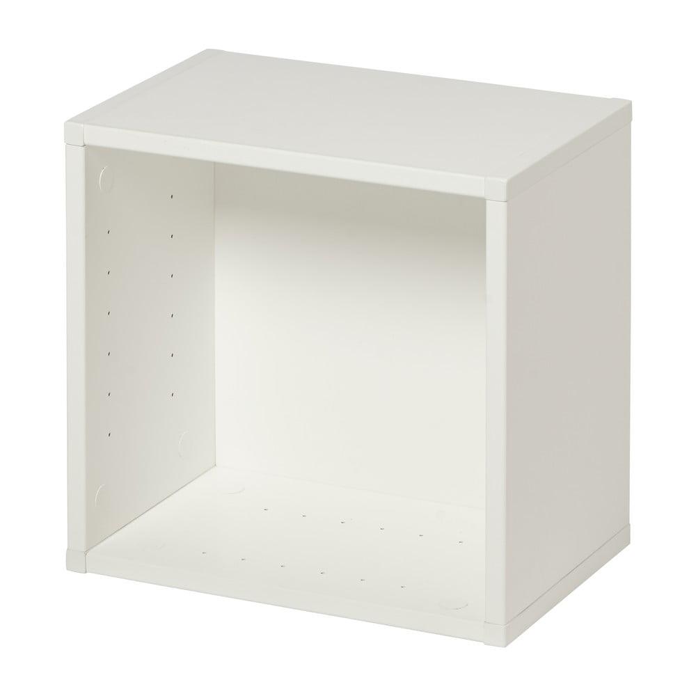 Bílá police na knihy Manis-h Danae, šířka 22'cm