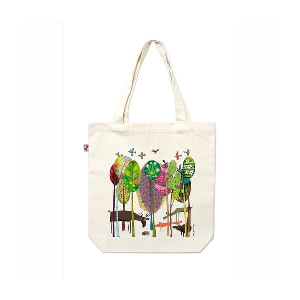 Plátěná taška V lese