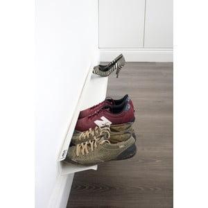Police na boty J-Me Shoe Rack bílá, 120 cm