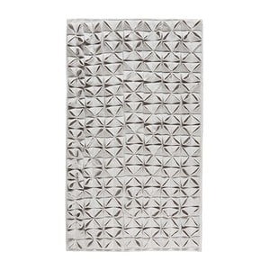 Koupelnová předložka Origami 60x100 cm, šedá