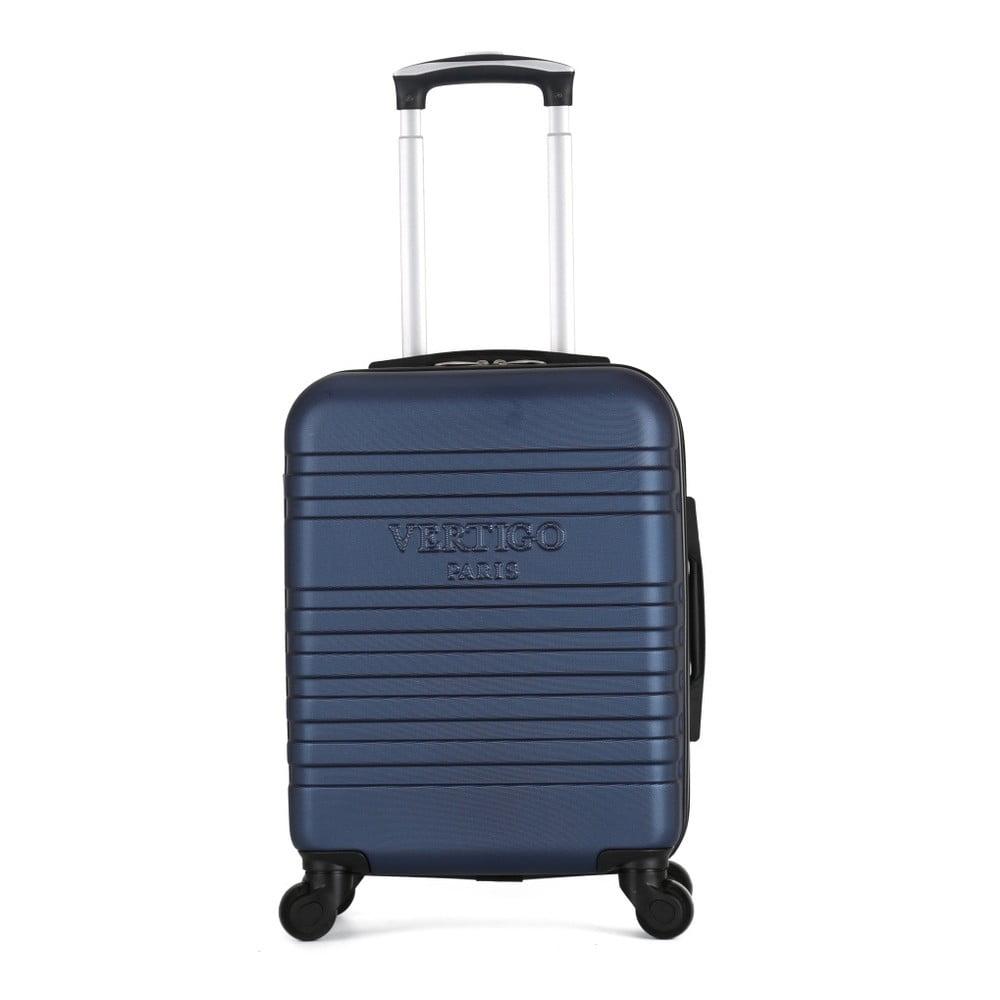 Tmavě modrý cestovní kufr na kolečkách VERTIGO Valises Cabine Cadenas Muela