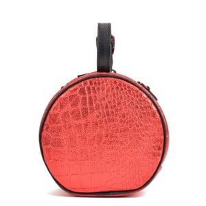 Červené kožené psaníčko Mangotti Bags Aura