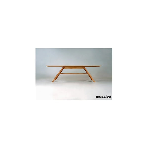 Jídelní stůl z olšového dřeva Mazzivo Linia 32.1, 200x100cm
