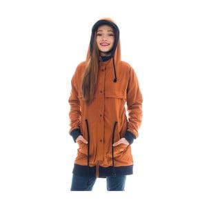 Jachetă Lull Loungewear Bahia Feliz, măr. S, portocaliu