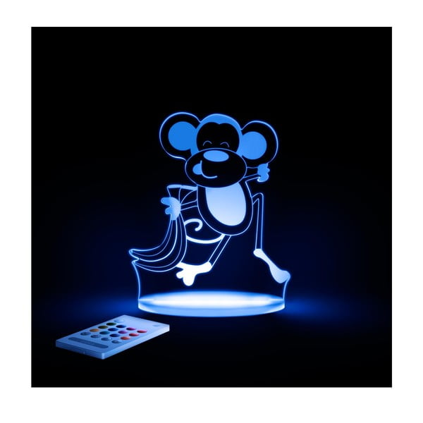 Dětské LED noční světýlko Aloka Monkey
