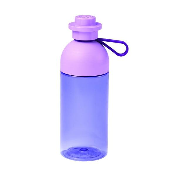 Fialová cestovná fľaša LEGO®, 500 ml