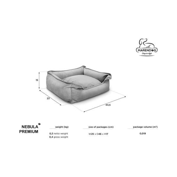 Béžový pelíšek pro psy Marendog Nebula Premium