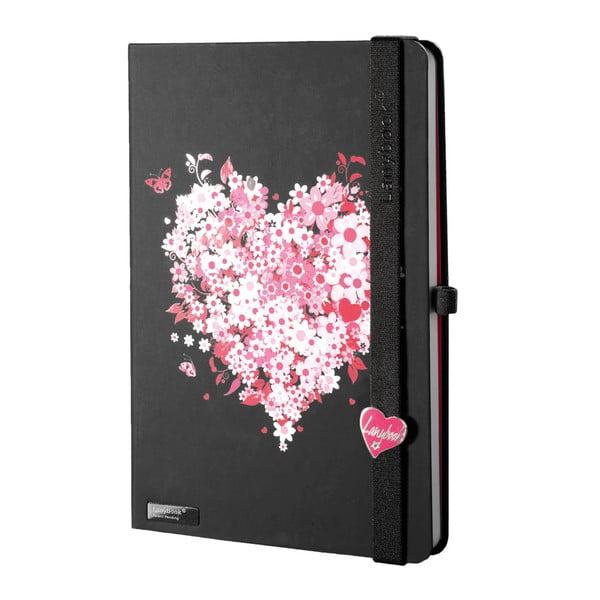 Zápisník Lovestruck Black, A5
