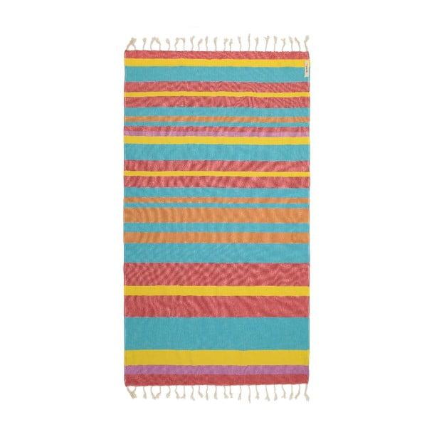 Ręcznik hammam Myra Colorful V, 95x175 cm