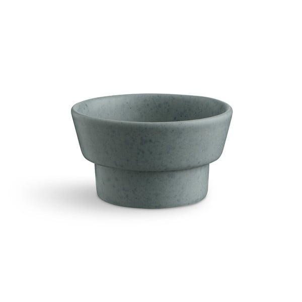 Zelený kameninový svícen Kähler Design Ombria, ⌀ 9 cm