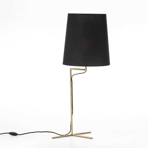 Stolní lampa ve zlaté barvě bez stínítka Thai Natura, výška52cm