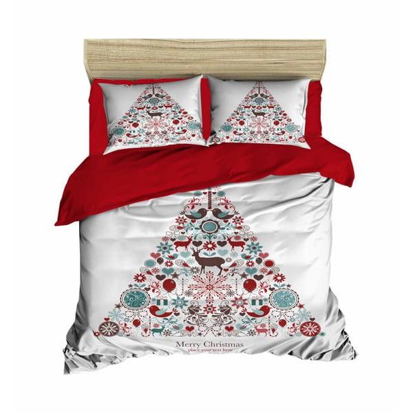 Abi karácsonyi, kétszemélyes ágyneműhuzat, 200 x 220 cm