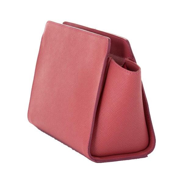 Kožená kabelka Andrea Cardone 2022 Pink