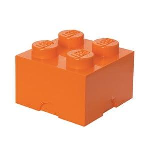 Úložná kostka, oranžová