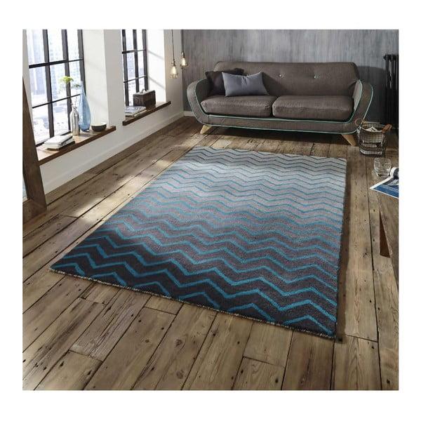 Modro-šedý koberec Think Rugs Spectrum Grey Blue, 120x170cm