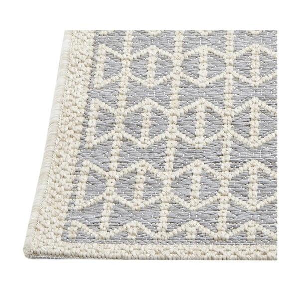 Světle šedý vysoce odolný koberec Webtappeti Stuoia, 200x290cm