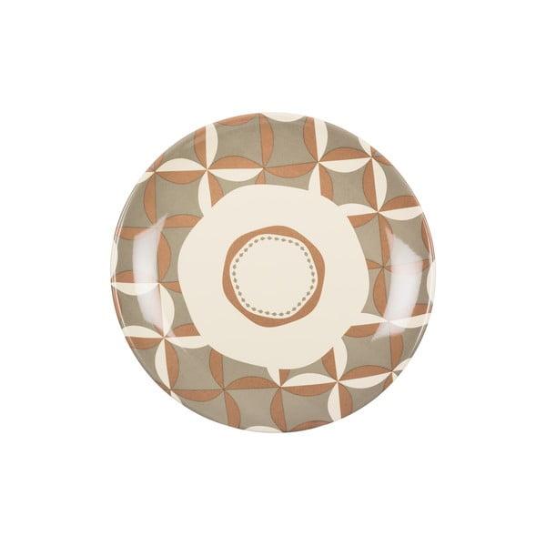 Sada 18 ks keramických talířů Pavé