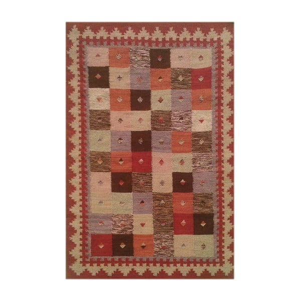 Vlněný koberec Kilim No. 194, 120x180 cm