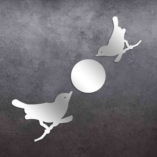 Dekorativní zrcadlo Birds Moon