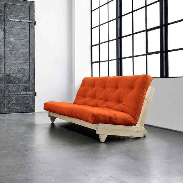 Rozkládací pohovka Karup Fresh Raw/Orange