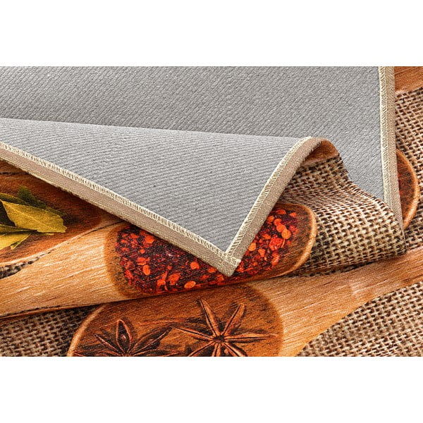 Vysoce odolný kuchyňský koberec Webtappeti Spices Market,60x240cm