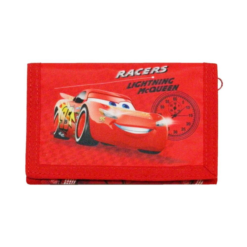 Červená dětská peněženka Bagtrotter Cars