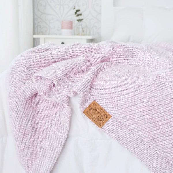 Růžová deka Hawke&Thorn Parker