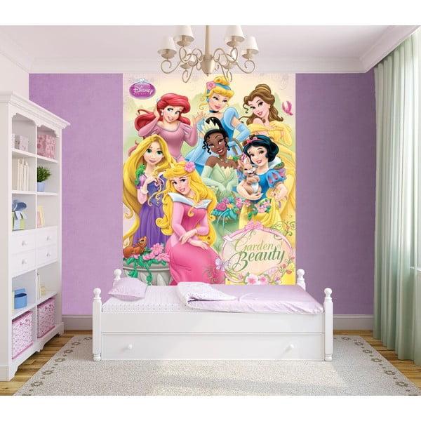 Velkoformátová tapeta Disney Princezny, 158x232 cm