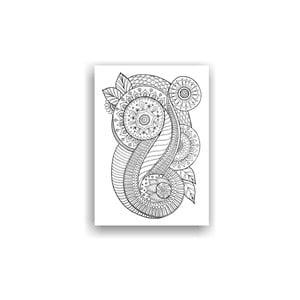 Obraz k vymalování Color It no. 35, 70x50 cm