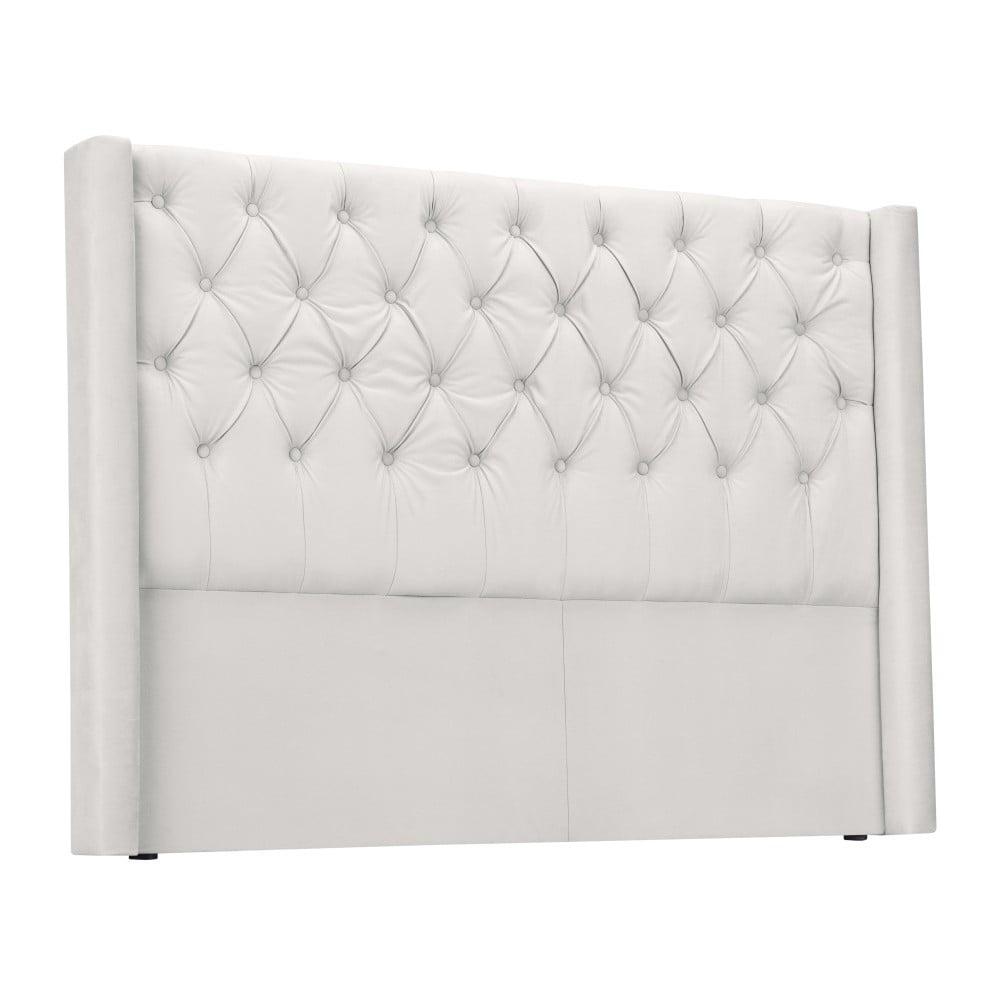 Bílé čelo postele Windsor & Co Sofas Queen, 196 x 120 cm Windsor & Co Sofas