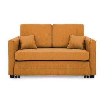 Canapea extensibilă, 2 locuri, Vivonita Brent, galben muștar de la Vivonita