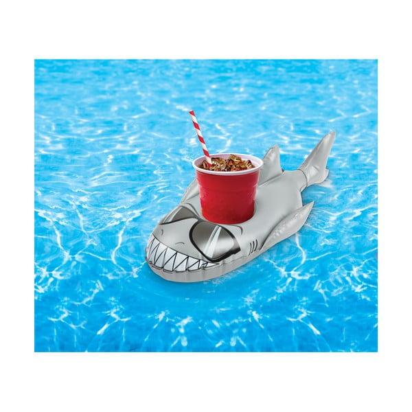 Sada 2 nafukovacích kruhů na nápoje ve tvaru žraloků Big Mouth Inc.