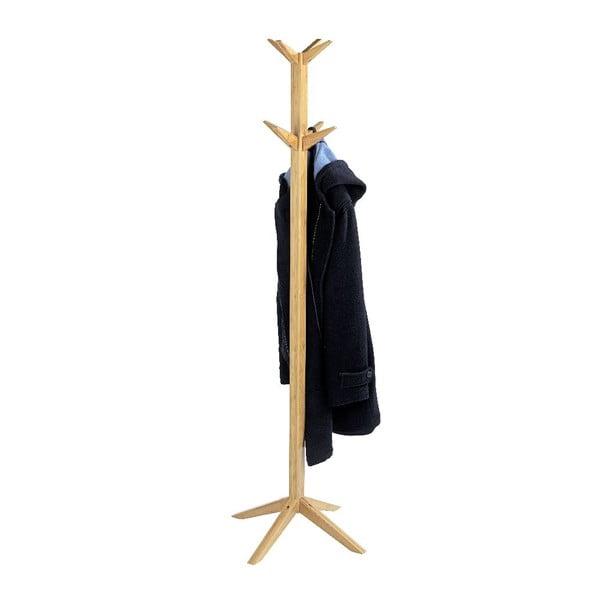 Věšák z bambusového dřeva Wenko Bamboo Rack, 167 cm