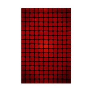 Koberec Casablanca Square 70x140 cm, červený