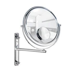 Vytahovací nástěnné zrcadlo Wenko Bivona, ø30cm