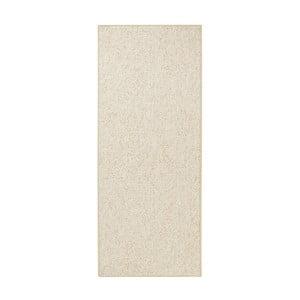 Běhoun BT Carpet Wolly v krémové barvě, 80x200cm