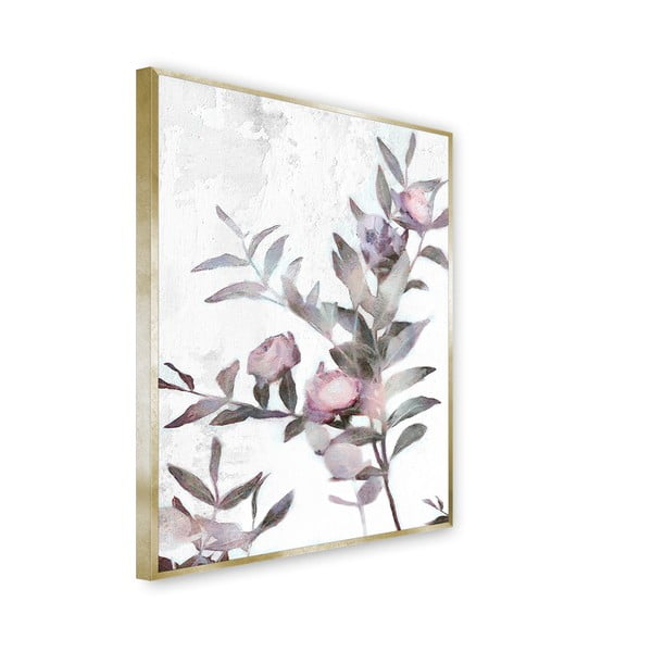 Tablou imprimat pe pânză Styler Flora, 62 x 82 cm