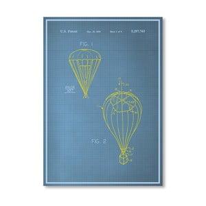 Plakát Parachute, 30x42 cm
